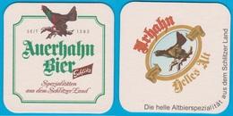 Auerhahn Brauerei Schlitz( Bd 2122 ) - Bierdeckel