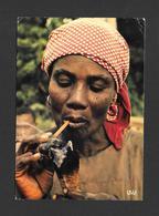 HAITI - ANTILLES - SCÈNE HAÏTIENNE - HAITIAN SCENE - 2 MAGNIFIQUES TIMBRES - CHICHÉ  P. CHARETON - Haïti