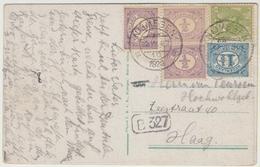 Mengfrankering Op Ansichtkaart Berg En Dal 1929. - Period 1891-1948 (Wilhelmina)