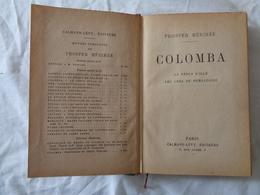 LIBRO D'EPOCA 1926 - PROSPER MERIMEE (COLOMBBA - LA VENUS D'ILLE - LES AMES DU PURGATOIRE) - LEGGI - Diritto Ed Economia