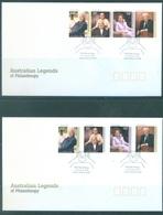 AUSTRALIA  - FDC - 23.1.2008 - AUSTRALIAN LEGENDS OF PHILANTHROPY - Yv 2796-2803 - Lot 18535 - Premiers Jours (FDC)