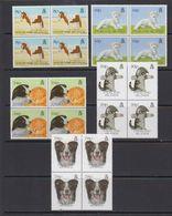 Falkland Islands 1993 Pets 5v Bl Of 4  ** Mnh (41473E) - Falklandeilanden