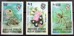 Territorio Británico Del Océano Índico 54/6 ** - Territorio Británico Del Océano Índico