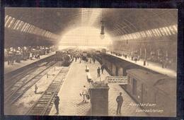 Amsterdam - Centraalstation - Staatspoorwegen Afstempel 1912 - Amsterdam
