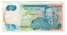 Seychelles 10 Rupees 1976 - Seychelles