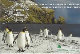 T.A.A.F., French Antarctica, 2017, Booklet 11, Carnet De Voyage La Réserve Naturelle - Terres Australes Et Antarctiques Françaises (TAAF)