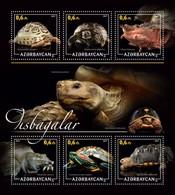 Azerbaijan. 2017 Turtles. - Azerbaïdjan