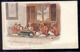 Nederlands Indië - Java - Muziekanten - 1900 - Pays-Bas
