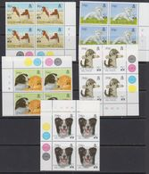 Falkland Islands 1994 Hong Kong / Pets 5v Bl Of 4 (corner) ** Mnh (41473I) - Falklandeilanden