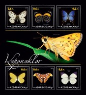 Azerbaijan. 2017 Butterflies. - Azerbaïdjan
