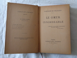 LIBRO D'EPOCA 1926 - COMTESSE DE NOAILLES - (LE COEUR INNOMBRABLE) - LEGGI - Diritto Ed Economia