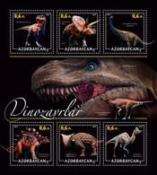 Azerbaijan. 2017 Dinosaurs - 2. - Azerbaïjan