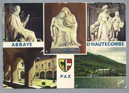 FR.- Abbaye D'Hautecombe - Saint-Pierre-de-Curtille -. PAX. Savoie. 1978. - Kerken En Kloosters