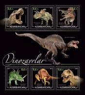 Azerbaijan. 2017 Dinosaurs - 1. - Azerbaïdjan