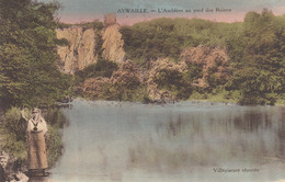 Aywaille:   L'Amblève Au Pied Des Ruines. - Aywaille