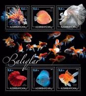Azerbaijan. 2017 Fishes. - Azerbaïdjan