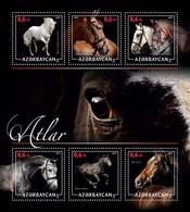 Azerbaijan. 2017 Horses. - Azerbaïjan