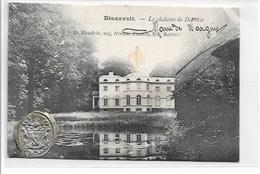 Blaasveld - Le Chateau De Bel-Air - Met Stempel Van Ringzegel Kasteelheer - Zeldzaam !!!! - Willebroek