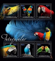 Azerbaijan. 2017 Parrots. - Azerbaïjan