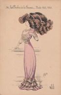 MODE LES CHICHIS DE LA FEMME  1909-1910 Par RAVOT 84H - Mode