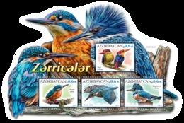 Azerbaijan. 2017 Kingfishers. Block - Azerbaïdjan