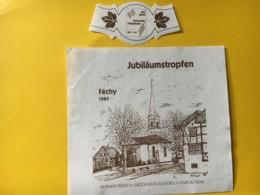 9179 -  100jahre Turmverein Albisrieden 1991  Suisse Gymnastique Féchy 1989 - Etiquettes