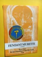 9183 - Panathlon Oberwallis Fendant Murette Suisse - Etiquettes