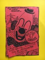 9186 - Cuvée Spéciale Revue Et Corrigée Les Kikuyus 1988 Clos Des Abesses 1987 Suisse Clown - Etiquettes