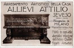 Milano Seveso Allievi Attilio Arredamento Artistico Della Casa Mobilificio - Negozi