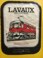 9188 - Locomotive Electrique Lavaux Testuz Suisse - Trains