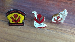 Lot De 3 Pin's ASNL - Badges