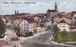 Basel - Steinenvorstadt Mit Steinenthorstrasse 1920 - BS Bâle-Ville