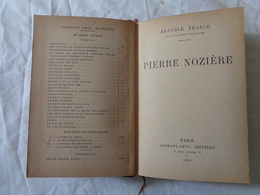 LIBRO D'EPOCA 1926 - ANATOLE FRANCE DE L'ACADEMIE FRANCAISE (PIERRE NOZIERE) - LEGGI - Diritto Ed Economia