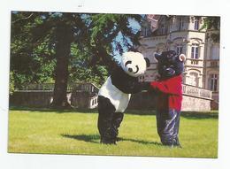 49  - St Saturnin Sur Loire La Ferme Du Soleil Ours Panda Déguisement - France