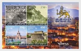 Armenië / Armenia - Postfris / MNH - Sheet 2800 Jaar Oprichting Van Yerevan 2018 - Armenië