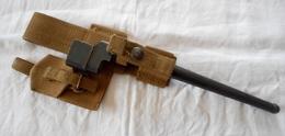 Baïonnette Anglaise N° 4 MKII + Porte Fourreau SAS Paracutistes GB WW2 - Knives/Swords