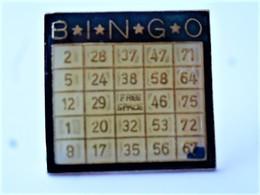 PINS CARTON DE BINGO  / 33NAT - Games