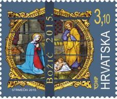 2015 Christmas, Croatia, Hrvatska, MNH - Croatie