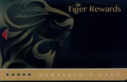 Nepal , Tiger Palace Resort , Tiger Rewards , Membership Card, (1pcs) - Nepal