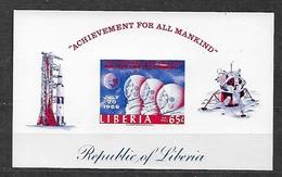 #B26C# LIBERIA MICHEL BL 48B MNH**, SPACE. - Liberia
