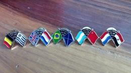 Lot De 5 Pin's Calcio 90 - Pin's