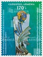 Armenië / Armenia - Postfris / MNH - Complete Set Armeense Medailles 2018 - Armenië