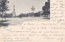 MADRID - ESPANA  - 2  BELLA POSTAL ANIMADA.- 1899. - Madrid