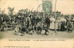France - 54 - Grève Du Bassin De Longwy - La Soupe Populaire Des Grévistes De Hussigny - Longwy