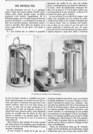 LA NOUVELLE PILE ELECCTRIQUE DU Dr FONTAINE-ATGIER  1899 - Autres