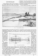 LES PONTS-BALLONS  1899 - Technical