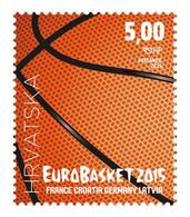 2015 Eurobasket Zagreb, Croatia, Hrvatska, MNH - Croatie