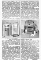 """INTERRUPTEUR """"  WEHNELT """" Pour BOBINE D'INDUCTION 1899 - Autres"""