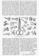CISEAUX Pour DIVERS USAGES   1899 - Autres