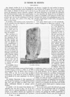 LE MENHIR De MERSINA ( ASIE MINEURE )   1899 - Archéologie